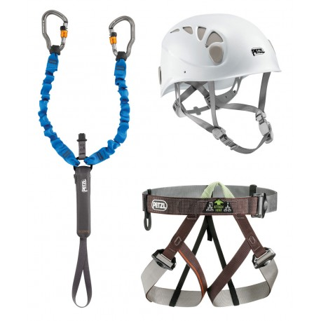 kit via ferrata petzl